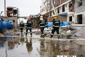Trung Quốc bắt thêm 6 nghi can trong vụ nổ nhà máy hóa chất ở Giang Tô