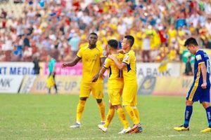 V-League 2019: Chủ nhà SLNA giành chiến thắng trước Thanh Hóa