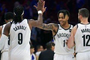 Chùm ảnh: Brooklyn Nets đánh sập pháo đài Well Fargo Center