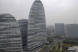 Trung Quốc: Phạt 29.000 USD vì phân tích tòa nhà Wangjing Soho có phong thủy xấu