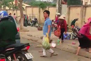 Cán bộ trật tự đô thị thành phố Sơn La đe dọa người tố cáo?