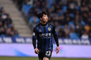 Incheon United không ghi bàn nào khi Công Phượng góp mặt trên sân
