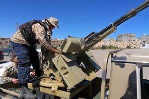 Chiến đấu cơ Quân đội quốc gia Libya bị bắn rơi ở Tripoli