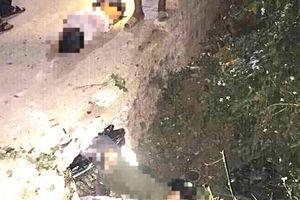 3 học sinh tử vong khi tông xe vào cống ven đường