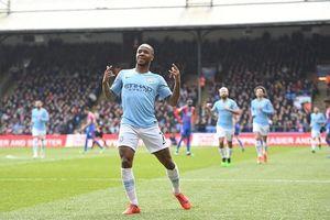 Highlights Crystal Palace 1-3 Man City: Sterling lập cú đúp