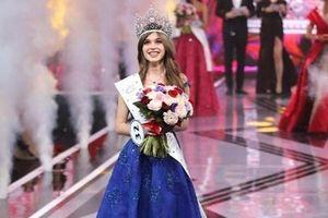 Nhan sắc 'vạn người mê' của cô gái 20 tuổi vừa lên ngôi Hoa hậu Nga