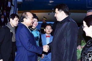 Thủ tướng Nguyễn Xuân Phúc bắt đầu thăm chính thức Ru-ma-ni