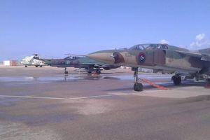 Tiêm kích MiG-21 của lực lượng chống chính phủ bị bắn hạ tại Libya