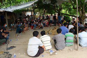 Sòng bạc khủng khu vực biên giới Việt Nam - Campuchia bị triệt phá