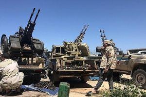 Chiến đấu cơ của quân đội quốc gia Libya bị bắn rơi