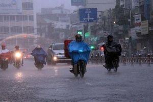 Các tỉnh Bắc Bộ và Bắc Trung Bộ có mưa to