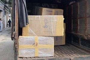 Bắt giữ 4 đối tượng và 600kg ma túy đá tại Nghệ An