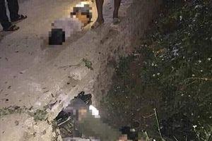 Lao xe máy xuống cống, 3 học sinh Thanh Hóa tử vong