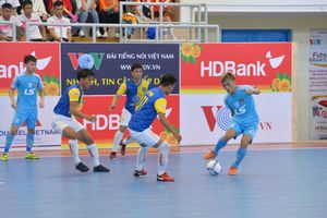 VCK Futsal HDBank 2019: Ghi bàn sớm, ĐKVĐ Thái Sơn Nam thắng bạc nhược