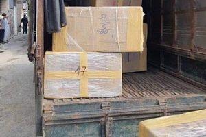 Bắt nhóm đối tượng thu giữ hàng trăm kg ma túy đá