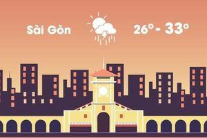 Thời tiết ngày 16/4: Sài Gòn giảm nhiệt, mưa rào và dông rải rác