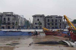 Hải Phòng: Hai tàu chở than chìm trên sông Tam Bạc
