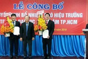 ĐH Nông lâm TP.HCM bổ nhiệm 2 Phó Hiệu trưởng