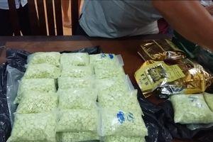 Thu giữ thêm một kg Ketamine và 1.000 viên ma túy tổng hợp
