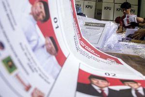 Indonesia hoàn tất công tác chuẩn bị cho cuộc bầu cử Tổng thống