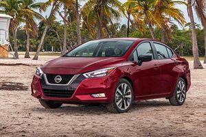 Nissan Versa 2020 hoàn toàn mới, 'đối thủ' Ford Fiesta sedan