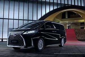 Lexus chính thức giới thiệu minivan hạng sang LM hoàn toàn mới