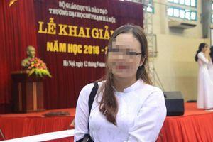 Điểm thật của thí sinh Hòa Bình đỗ thủ khoa Trường đại học sư phạm Hà Nội