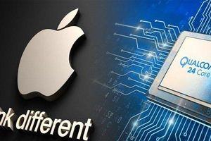 Apple đối đầu với Qualcomm trong cuộc chiến pháp lý trị giá hàng tỷ USD