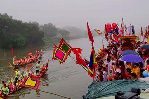 Độc đáo lễ hội 'hẹn ước' trên sông Đáy