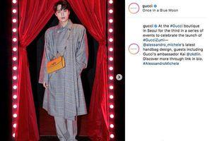 Sehun nhận quà 'khủng' từ fan, Kai trở thành thuật ngữ của thương hiệu thời trang lớn Gucci