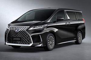 Lexus LM trình làng, sang trọng hơn Alphard