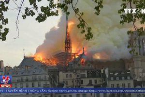 Hỏa hoạn tại Nhà thờ Đức Bà Paris