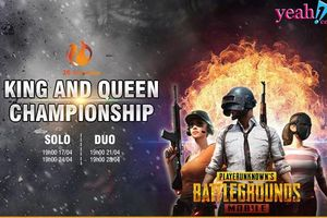 King and Queen Championship PUBG Mobile