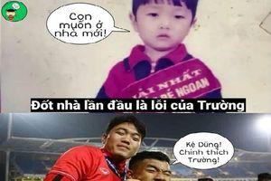 Ảnh chế 'lầy lội' hội cầu thủ Việt Nam theo hot trend Hương Giang Idol