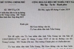 Tháo gỡ 'nút thắt' cao tốc Trung Lương – Mỹ Thuận để thông tuyến đúng tiến độ