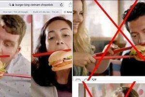 Burger King hứng chịu mưa gạch đá của cư dân mạng vì quảng cáo chế giễu việc dùng đũa