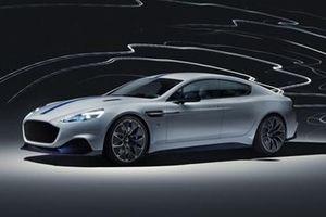 Rapide E đánh dấu kỷ nguyên điện hóa của hãng siêu xe Aston Martin