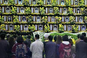 Hàn Quốc tưởng niệm 5 năm ngày xảy ra vụ chìm phà Sewol