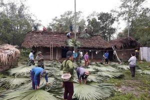 Tuyên Quang: Mưa kèm gió lốc làm 148 ngôi nhà tốc mái