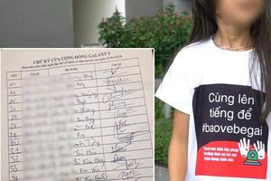 Cư dân chung cư Galaxy 9 đồng loạt ký đơn yêu cầu nhanh chóng khởi tố ông Nguyễn Hữu Linh