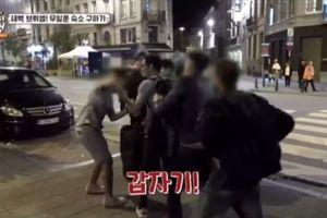 Park Joonhyung (g.o.d) bị cướp tại Bỉ