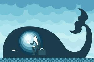 Con người có thể sống được 2 ngày nếu vô tình bị cá voi nuốt chửng?