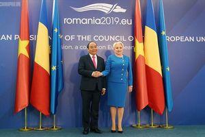 Toàn văn Tuyên bố chung Việt Nam-Romania