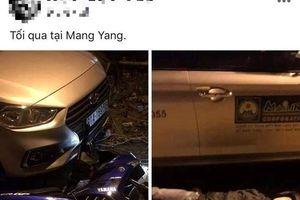 Thanh niên tạo hiện trường tai nạn giao thông giả chỉ để đăng Facebook