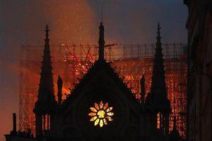 Tổng thống Pháp cam kết phục dựng Nhà thờ Đức Bà trong 5 năm