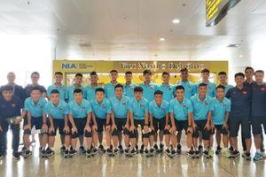 Đội Việt Nam lên đường dự Giải U18 quốc tế tại Hồng Công (Trung Quốc)