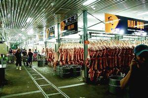 Chợ đầu mối Bình Điền: Kiểm soát chặt chất lượng thịt các loại