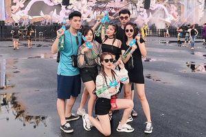 1 mét vuông 10 trai xinh gái đẹp hội tụ ở Tết té nước Songkran
