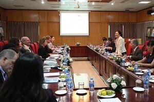 Đoàn trợ lý nghị sỹ Mỹ thăm và làm việc tại Việt Nam