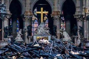 Pháp mong muốn tái xây dựng nhà thờ Đức bà Paris trong 5 năm
